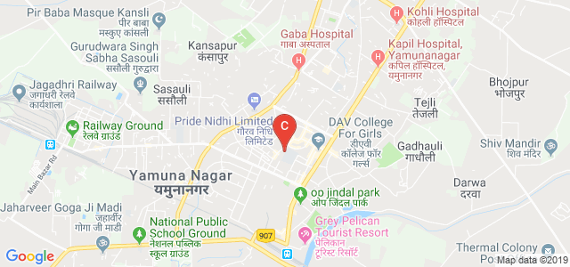 Tilak Raj Chadha Institute of Management and Technology, Model Town, Yamunanagar, Haryana, India