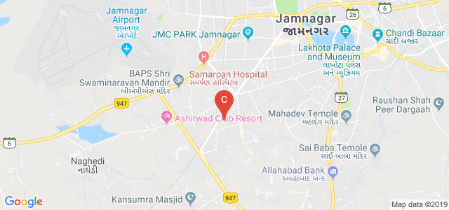 Shri Jaysukhlal Vadhar Institute Of Management Studies, Kailash Nagar, B/H, Gokul Nagar, Jamnagar, Gujarat, India