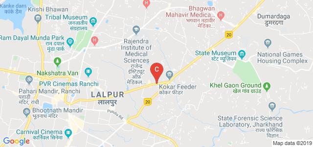 HB Rd, Burdwan Compound, Lalpur, Ranchi, Jharkhand 834001, India