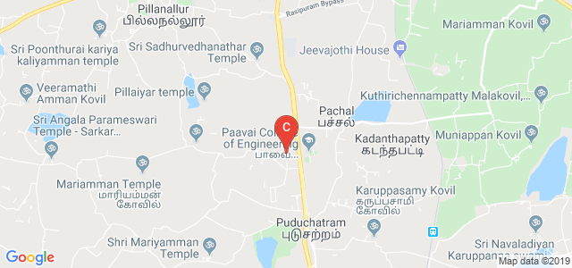 Paavai College of Pharmacy and Research, Salem-Madurai Road, Namakkal, Tamil Nadu, India
