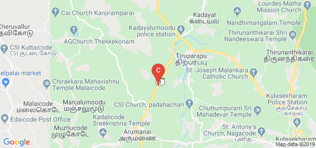 Good Shepherd College of Engineering and Technology, Maruthamparai, Kanyakumari District, Kaliyal Road, Arukhani Road, Maruthamparai, Tamil Nadu, India