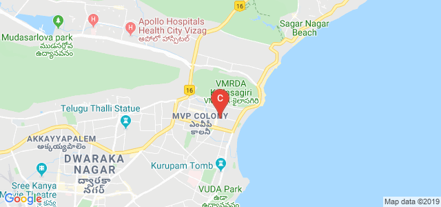 SAMATA PG COLLEGE, Circle, Sector 10, MVP Colony, Visakhapatnam, Andhra Pradesh, India