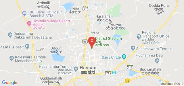 Government First Grade College for Women, Rangoli Halla, Hassan, Karnataka, India