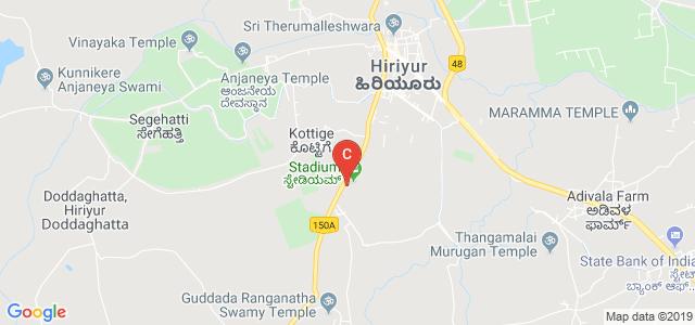 Vedavathi Govt. First Grade College, Mysore Road, Hiriyur, Karnataka, India