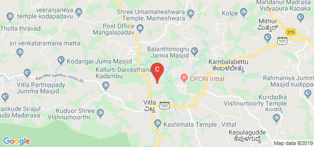 Govt. First Grade College Vitla, Vitla, Karnataka, India
