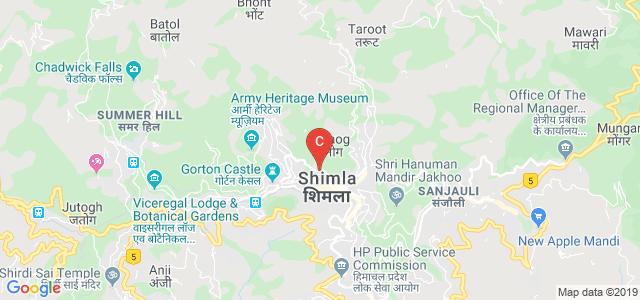 HPU Centre for Evening Studies, The Mall, Shimla, Himachal Pradesh, India