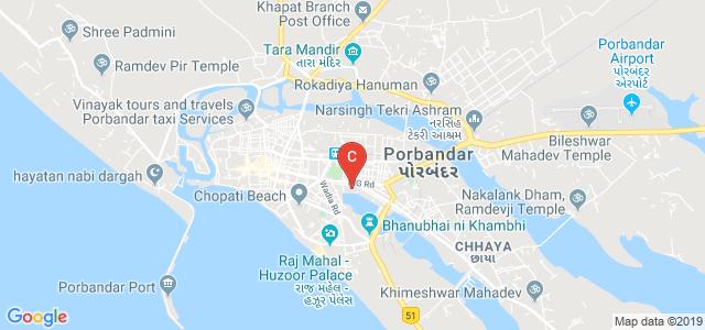 Dr Virambhai Rajabhai Godhaniya College, Khijadi Plot, Panch Hatdi, Porbandar, Gujarat, India
