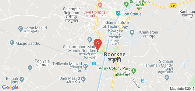 Old Railway Road, Bhagirath Kunj, Roorkee, Uttarakhand 247667, India