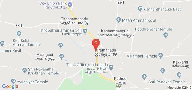 """Bharathidasan University women""""s College, Orathanadu, Tamil Nadu, India"""
