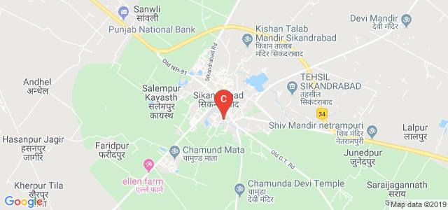 Shiv Mandir Chhuttan Lal Kaka Girls Degree College, Teacher Colony, Sikandrabad, Uttar Pradesh, India