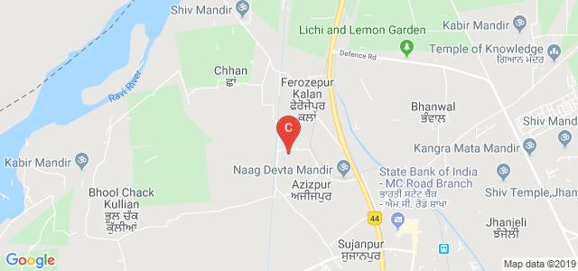 Guru Nanak Dev University College - Sujanpur, Khadawar, Punjab, India