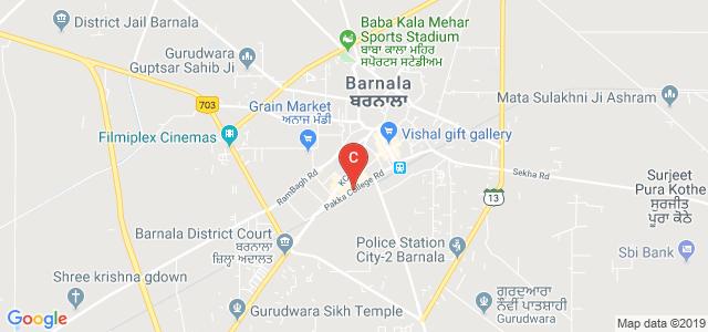 Pakka College Rd, Barnala, Punjab, India