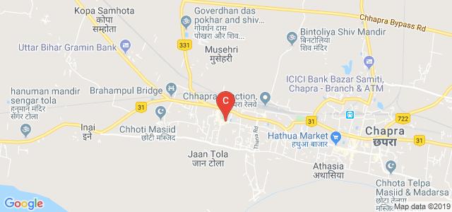 Rajendra college ,post office, Gudari Bazar, Takkad morde, Chapra, Bihar, India