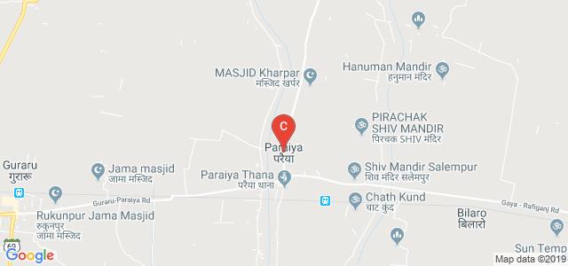 Paraiya, Gaya, Bihar 824209, India