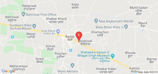 Sikh National College Banga, Banga, Punjab, India