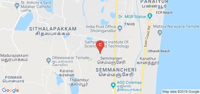 St.Joseph's Institute of Technology, Old Mahabalipuram Rd, Kamaraj Nagar, Semmancheri, Chennai, Tamil Nadu, India