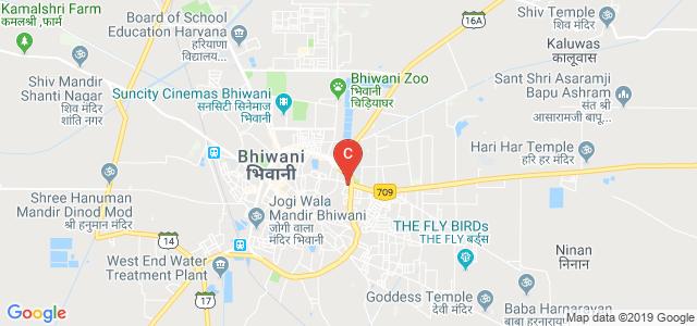 SH 16, M.C.Colony, Bhiwani, Haryana, India