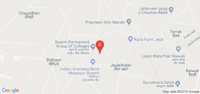 Swami Parmanand Engineering College, Distt. Mohali, Mohali, Punjab, India