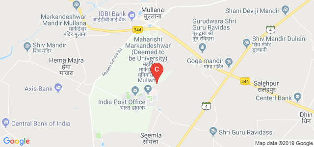 M M Engg College, MMEC, Mullana, Haryana, India