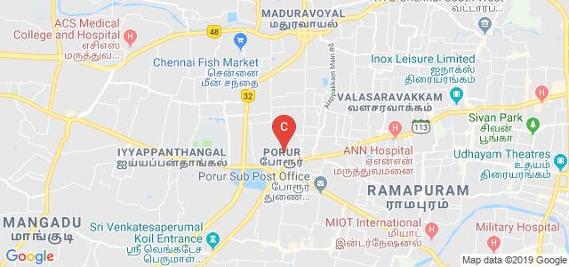 P.B. College Of Engineering, Karambakkam, Kaveri Nagar, Porur, Chennai, Tamil Nadu, India