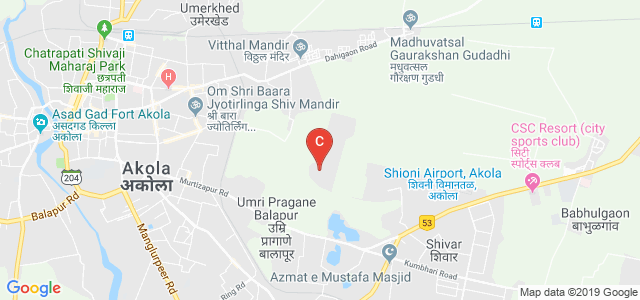 College Of Agricultural Engineering And Technology, Btech, Akola, Shivani AirPort Area, Akola Rural, Maharashtra, India