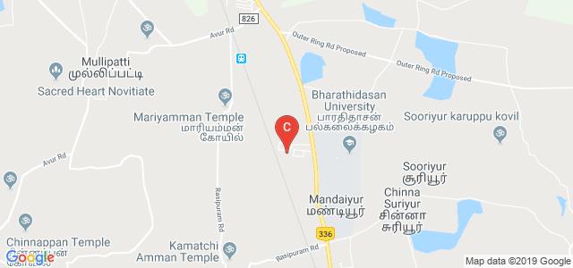Pavendar Bharathidasan College of Engineering & Technology, Mathur, Trichirapalli, Tamil Nadu, India