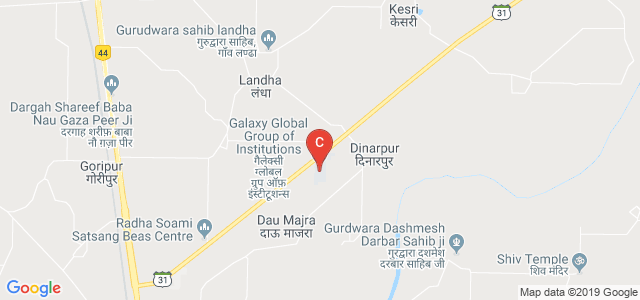 Galaxy Global Group of Institutions, Dinarpur, Ambala, Haryana, India