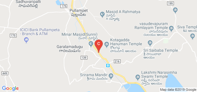 Sree Rama Engineering College, Karakambadi Road, Rami Reddy Nagar, Mangalam, Tirupati, Andhra Pradesh, India