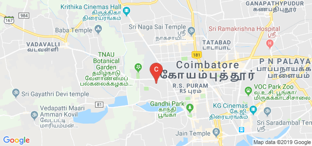 Agricultural Engineering College and Research Institute, Lawley Road, Tamil Nadu Agricultural University, PN Pudur, Coimbatore, Tamil Nadu, India
