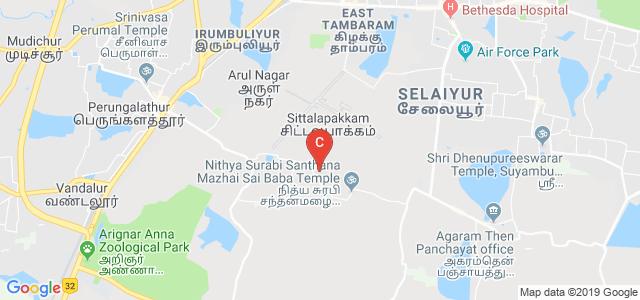 GKM College of Engineering & Technology, GKM Nagar, Tambaram, Chennai, Tamil Nadu, India