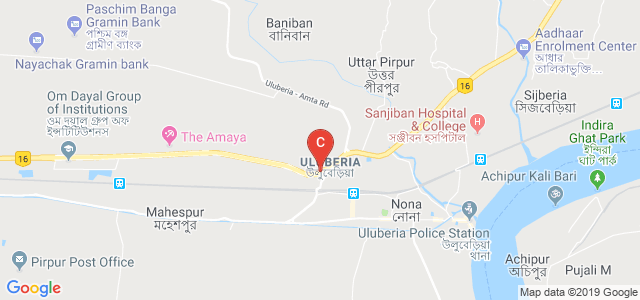 Uluberia Check Post Bus Stop, National Highway 6, Uluberia, Howrah, West Bengal, India