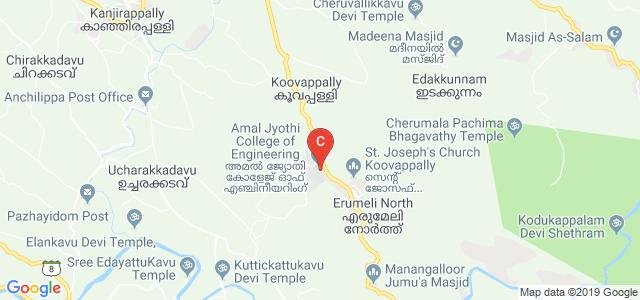 Amal Jyothi College of Engineering, Kanjirappally, Koovappally, Kerala, India