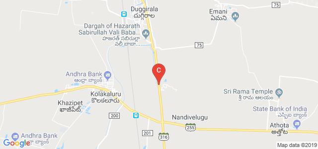 Priyadarshini Institute of Technology and Sciences MBA, Tenali Mangalagiri Road, Chintalapudi, Andhra Pradesh, India