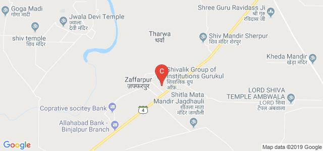 Shivalik Institute of Engineering & Technology, Ambala, Haryana, India