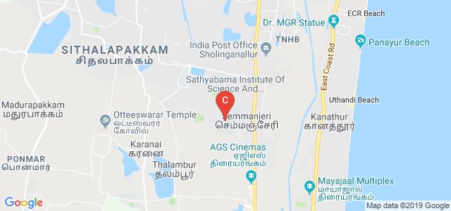 Jeppiaar Engineering College, Old Mahabalipuram Rd, Semmancheri, Rajiv Gandhi Salai, Jeppiaar Nagar, Chennai, Tamil Nadu, India