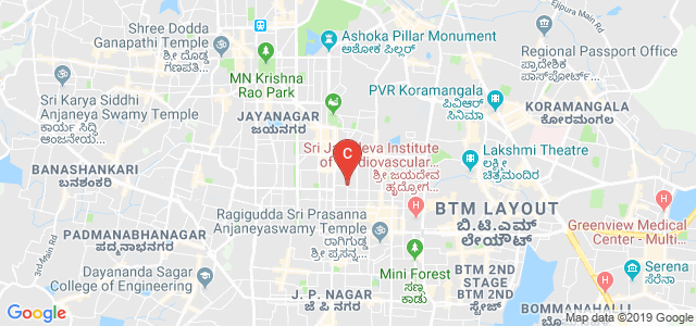 16th Main, 4th Block, Jayanagar, Bengaluru, Karnataka 560011, India