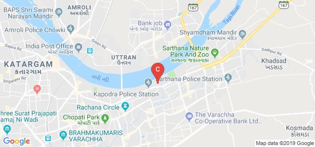 Shree Swami Atmanand Saraswati Institute of Technology, Varachha Main Road, Opp. Police Station, Kapodra Patiya, Surat, Gujarat, India