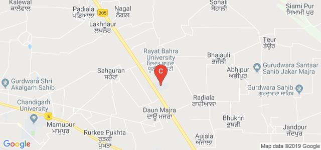 Rayat Bahra University, Kharar, Mohali, Punjab, India