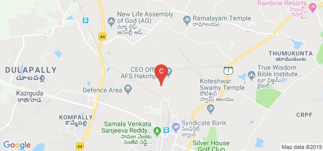 Jyothishmathi College of Engineering and Technology, Turkapalli, Bolarum, Sharmirpet, Telangana, India