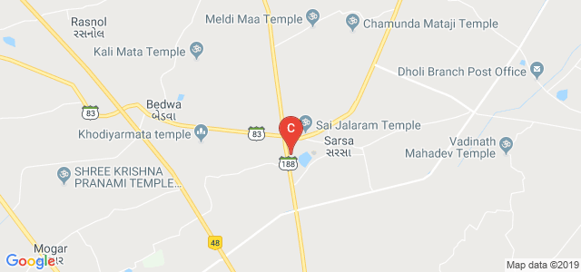 Sat Kaival College of Pharmacy, SH 188, Sarsa, Gujarat, India