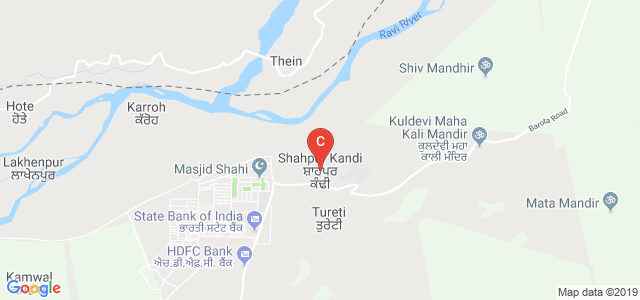 Shahpur Kandi, Pathankot, Punjab 145029, India