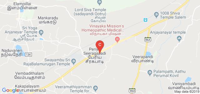 Vinayaka Mission's Kirupananda Variyar Engineering College, Chinna Seeragapadi, Salem, Tamil Nadu, India