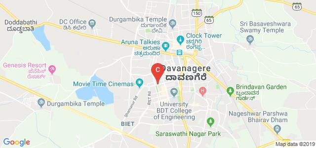 Shamanur Road, MCC B Block, MCC, Davanagere, Davangere, Karnataka, India