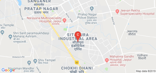 Central Institute Of Plastics Engg & Tech., Sitapura Industrial Area, Sitapura, Jaipur, Rajasthan, India