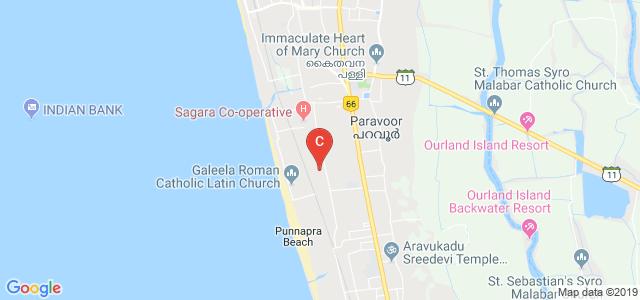 College Rd, Kalarcode, Punnapra North, Alappuzha, Kerala 688003, India