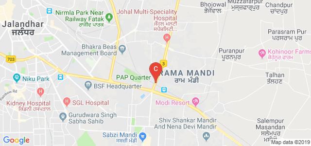 Hoshiarpur Road, Rama Mandi, Jalandhar, Punjab 144007, India