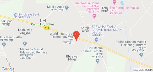 World Institute of Technology WIT, Sohna, Haryana, India
