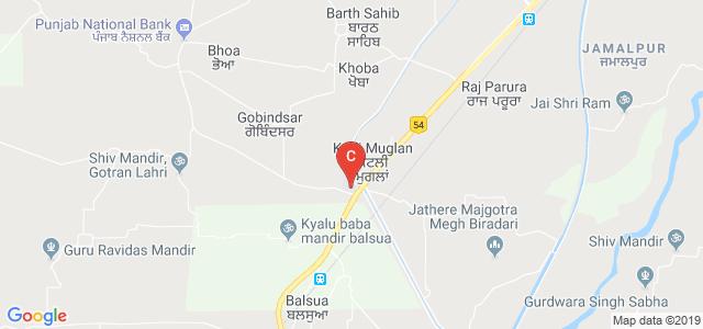 Aman Bhalla Institute of Engineering & Technology, Kotli-Bhoa Rd, Kotli Muglan, Punjab, India