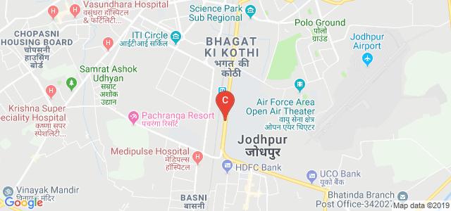 Pali Road, H. I. Area Phase II, Jodhpur, Rajasthan, India