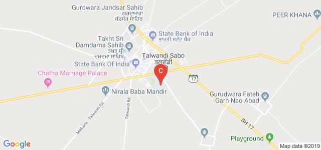 Yadavindra College of Engineering, Rama Road, Talwandi Sabo, Punjab, India